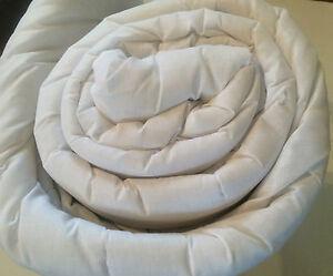 PREMIUM QUALITY POLYCOTTON HOLLOWFIBRE DUVET QUILT 10.5 TOG DOUBLE BED