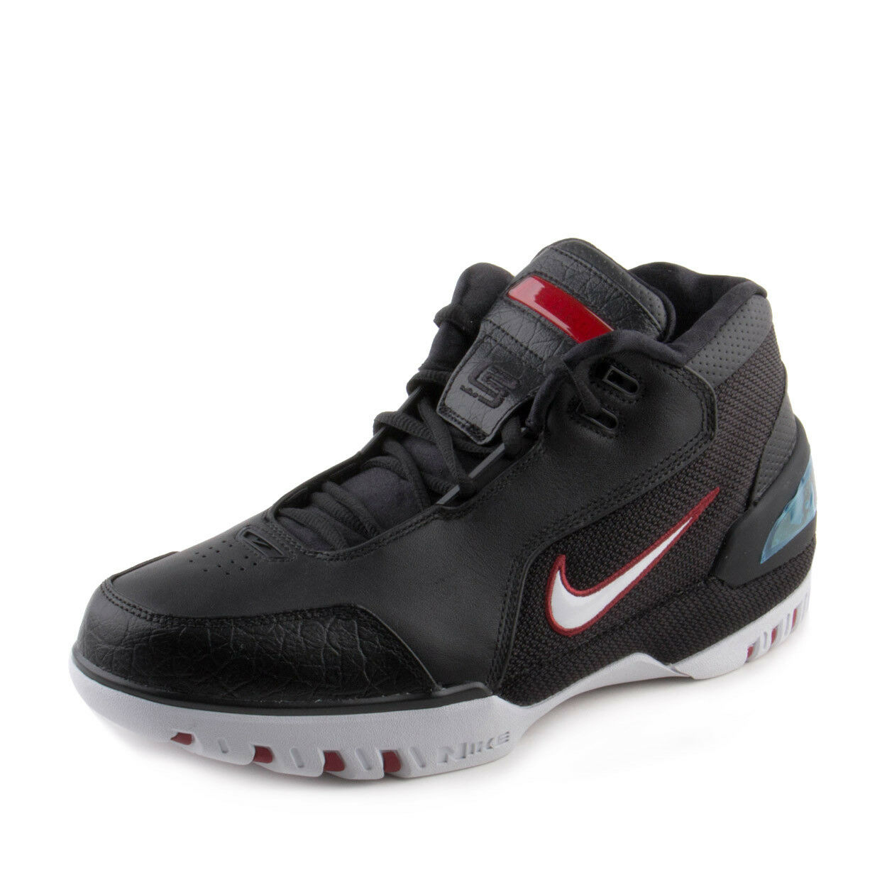 Nike Mens Air Zoom Generation QS Black/White-Crimson AJ4204-001