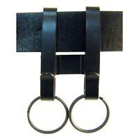 Zak Tool Dual Zt55 Tactical Police, Corrections, Key Ring Holder Belt Clip Set