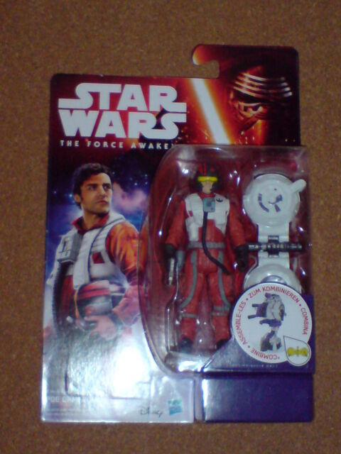 STAR WARS THE FORCE AWAKENS 3.75 INCH FIGURE POE DAMERON NEW