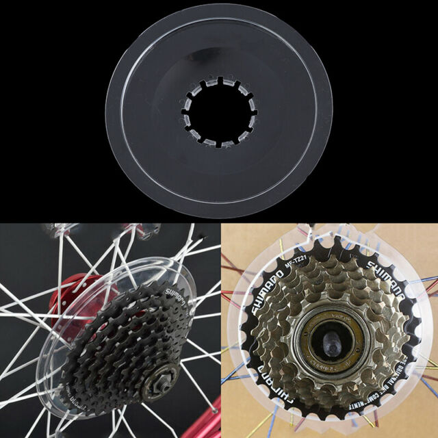 Bicycle MTB Bike Wheel Spoke Protector Disc Guard Cassette Freewheel Protection