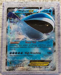 Pokemon wailord ex 38 160 xy primal clash ultra rare - Carte pokemon wailord ...