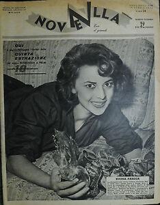 NOVELLA-N-16-ANNO-XXXV-18-APR-1954-GIOVANNA-RALLI-GERARD-LANDRY-e-M-FIORE