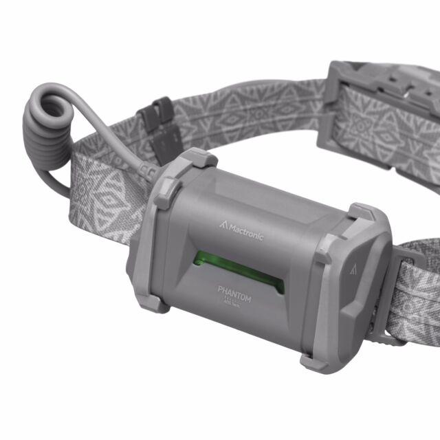 Mactronic Stirnlampe Phantom LED Campinglampe Leuchte Kopflampe AHL0016