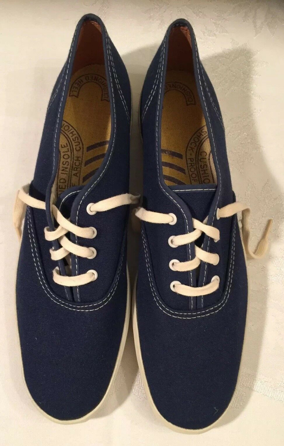 "Vintage 1986 ""KEDS"" Women's New W O T Size 10 Navy bluee"