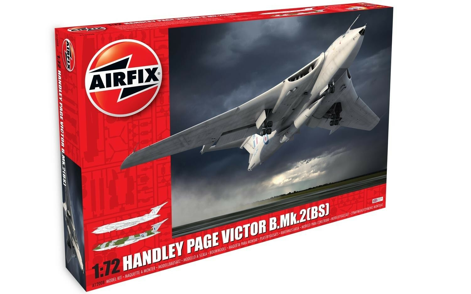 Airfix 1 72 Handley-Page Victor B.2 with bluee Steel Missile A12008