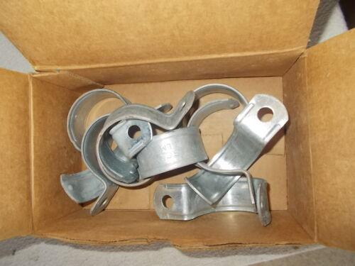 "10pc 2/"" Thomas/&Betts TS106 galvanized steel 1-hole EMT Strap"