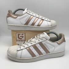 Monica enchufe Insatisfecho  adidas Superstar Womens Trainers Ba8169 Rose Gold / White & Original UK  Size 8 for sale online | eBay