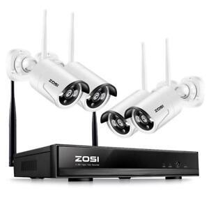 ZOSI-4CH-960P-HD-Funk-Video-Uberwachungssystem-WIFI-WLAN-Uberwachungskamera