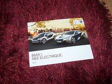 Catalogue / Brochure BMW i3 & i8 Concept 2011 //