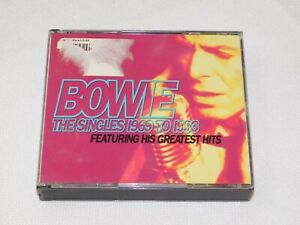 The-Singles-Collection-by-David-Bowie-CD-Nov-1993-2-Discs-EMI-Music-Distribu