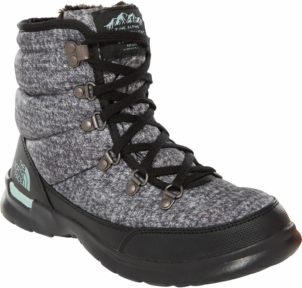 THE NORTH FACE ThermoBall Lace II T92T5L5QP Isolierte Warme Stiefel Stiefel Damen