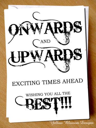 Cute Leaving Work New Job Good Luck Congratulations Card Colleague Friend Adult