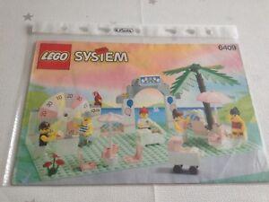 Lego Bauanleitung System Nr. 6409 - Nickritz, Deutschland - Lego Bauanleitung System Nr. 6409 - Nickritz, Deutschland