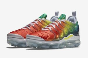 "91372cb93c5 Nike Air Vapormax Plus ""Rainbow"" White Neptune Green 924453-103 Mens ..."