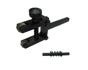 """Amadeal Spring Loaded Clamp Type Knurling Tool 2/"""" Long Extension"""