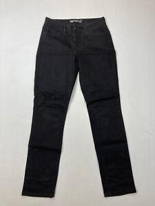 Levi-039-s-Demi-Curve-Mid-Rise-Skinny-Jeans-w28-l32-Super-Zustand-Damen