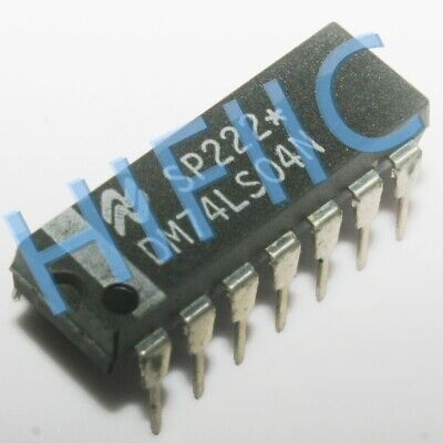 5PCS DM74LS04N Hex Inverting Gates DIP14