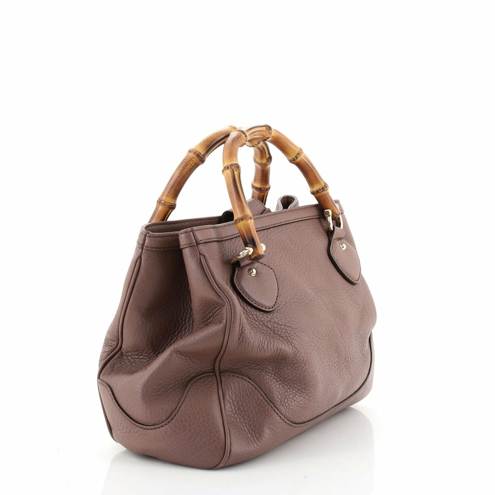 Gucci Diana Bamboo Top Handle Tote Leather Small - image 2