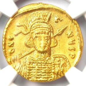 Byzantine-Constantine-IV-AV-Solidus-Gold-Coin-668-685-AD-Certified-NGC-MS-UNC