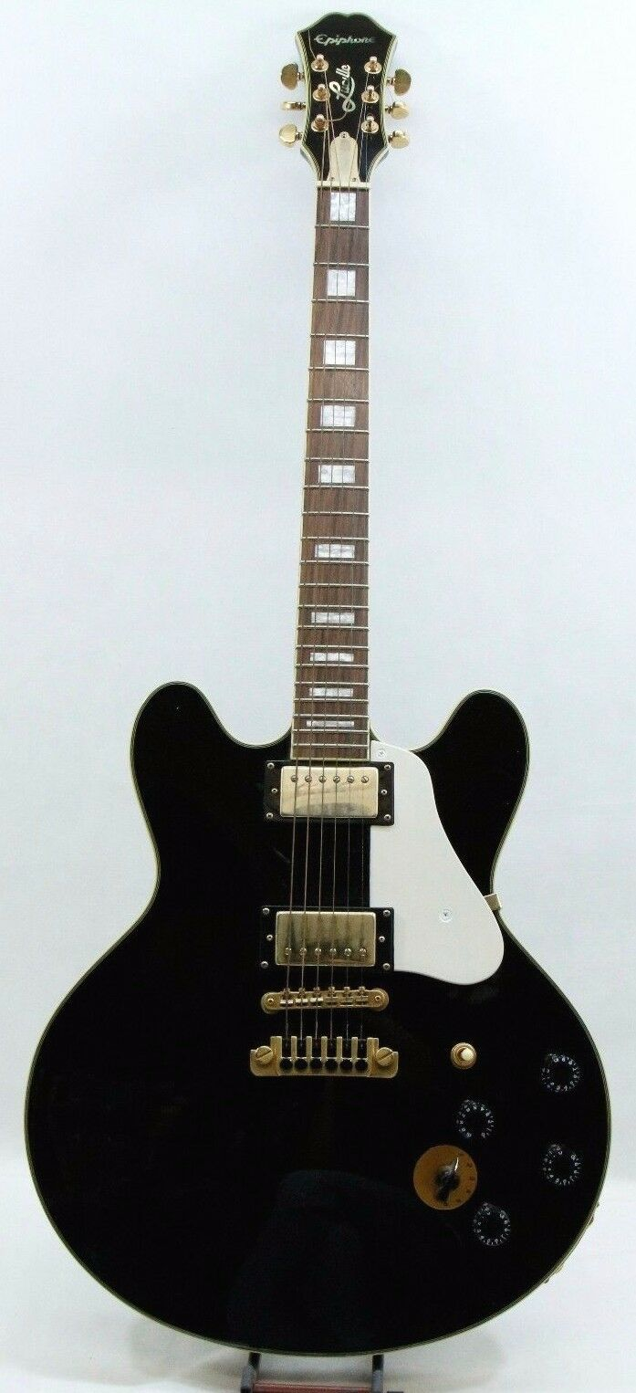 Epiphone BB King Lucille Electric Guitar gold Tone Hardware - Free Shipping
