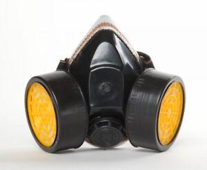 Cartridge-Respirator-Anit-Dust-Mask-Paint-Chemical-Fumes-Gas-Spray-Prep-Prepper