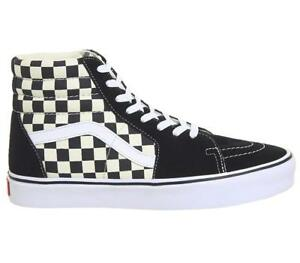 5180ef75f783dd Image is loading VANS-U-SK8-HI-LITE-CHECKERBOARD-BLACK-WHITE-