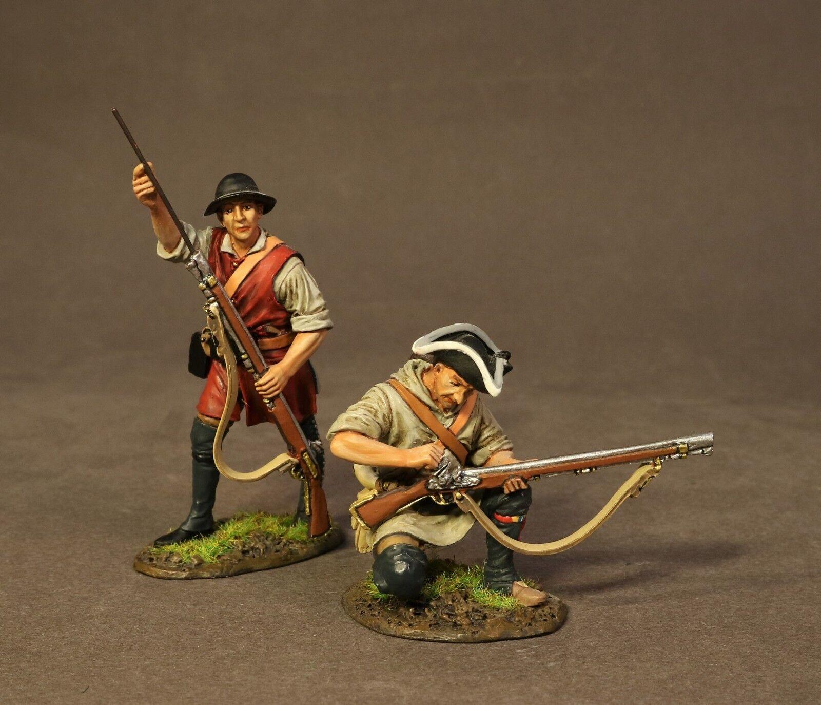 John Jenkins Trommeln entlang der Mohawk dam-06b zwei Colonial Pioniere