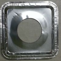 40 Aluminum Foil Square Gas Burner Disposable Bib Liners Stove Covers Wholesale