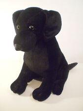 Stuffins Black Labrador Retriever Dog Plush Animal Puppy 1997