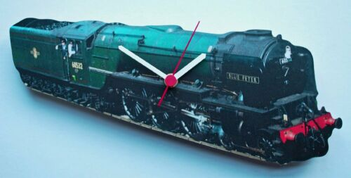 Blue Peter Steam Train Clock LS0014