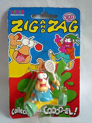 SKATEBOARDER ZAG by Vivid 1994 Zig and Zag Carded MOC
