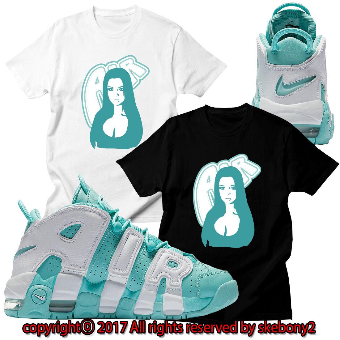New Custom Tee Nike Air More Uptempo Matching T Shirt Utp 1 9 15