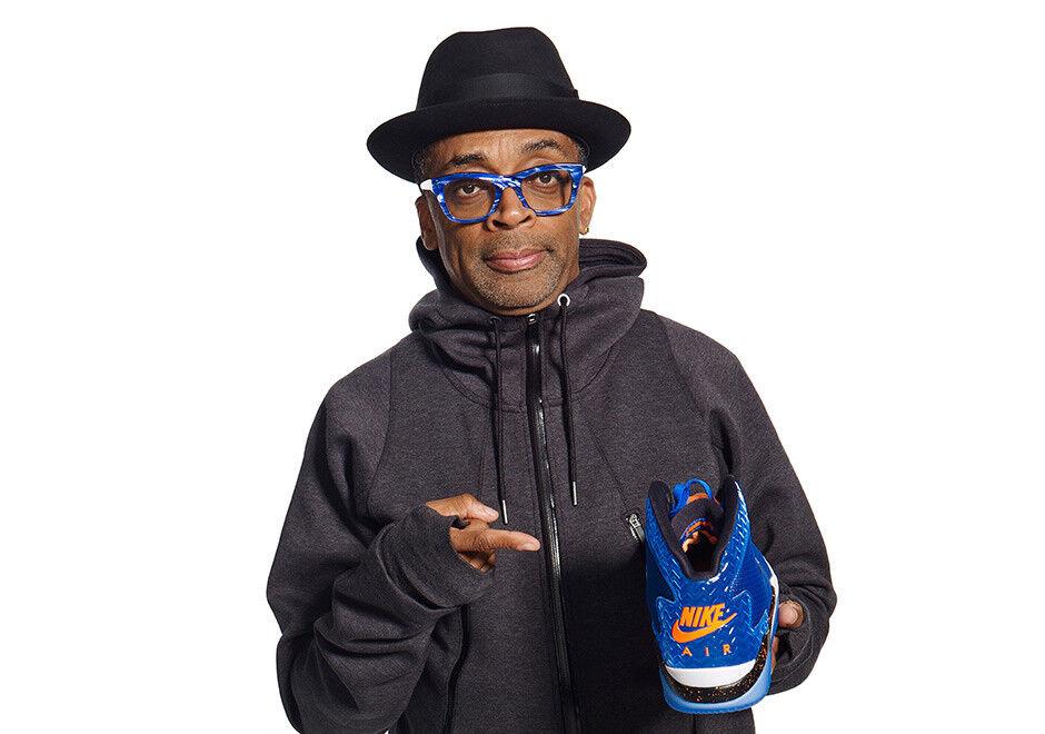 Nike Air Jordan Spike Lee Forty 40 PE NY Knicks bluee orange Spizike White Sz 11