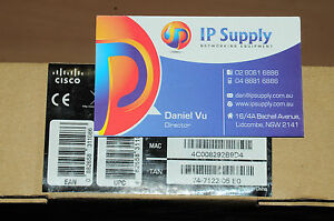 *Brand New* Cisco SPA525G2 5-Line IP VoIP Telephone w/Colour Display 6MthWty 882658311086
