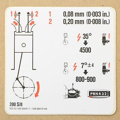Entlüftungsschlauch an Ventildeckel MERCEDES W108 280 S W114 230.6 250 250 2,8