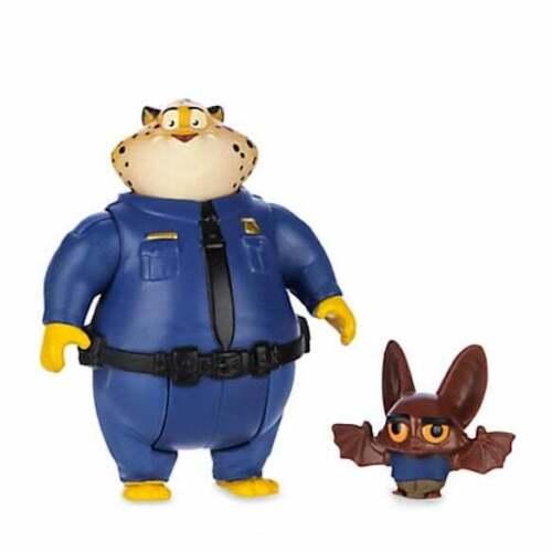 Set 12 Personaggi Dal Film Zootropolis Nuovo 2 in 6 Box Walt Disney Nick Finnick