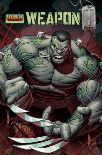 Weapon H #1 Keown Hulk Homage Variant Marvel Comics 1st Print EXCELSIOR BIN