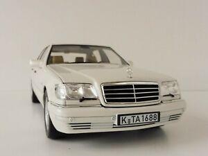 Mercedes-benz-s320-1997-1-18-norev-183720-126-w140-clase-S-S-Class-whitemetalli