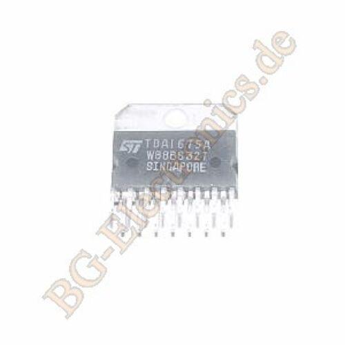 2 x TDA1675A VERTICAL DEFLECTION CIRCUIT STM Multiwatt-15 2pcs