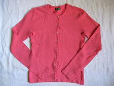 Benetton Damen Strickjacke Stretch Wolle Gr.S women cardigan sweater round neck