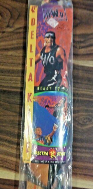 """Hogan Hulk 42"""" Delta Kite Spectra Star Hollywood Vintage 1998 ..."""