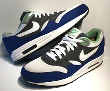 06e725270c item 1 Nike Air Max 1 Essential Sneakers Shoes Men's Sz 11.5 Blue/White/ Green -Nike Air Max 1 Essential Sneakers Shoes Men's Sz 11.5 Blue/White/ Green