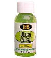 Ultra Klean Ultra Wash MouthWash Toxin Detox Cleanser Saliva Cleansing Swab Test