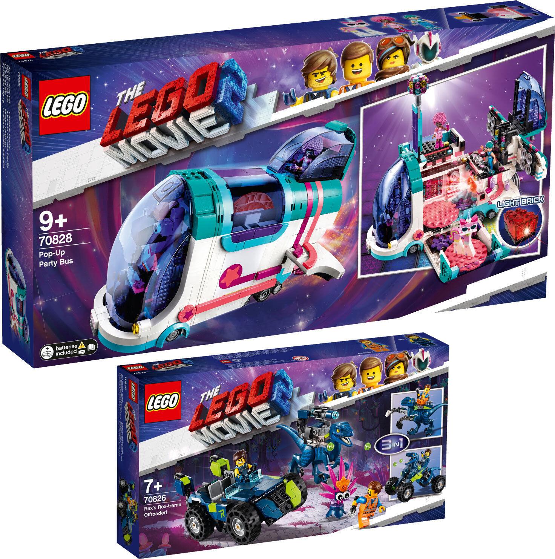 LEGO® THE LEGO MOVIE 2™ Pop-Up-Party-Bus 70828 70826 Offroad-Fahrzeug  N1/19