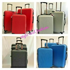 4-Wheels-Luggage-Set-ABS-Set-of-3-piece-Luggage-Ultra-Lightweight-Suitcase