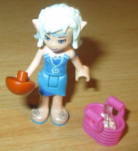 Naida Riverheart mit Korb u Keule aus 41181 Lego Elves Figur