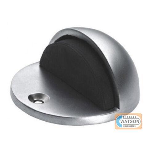 CARLISLE BRASS AA20SC Satin Chrome Oval Floor Door Stop 48mm x 45mm Doorstop