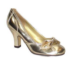 Donna-midheel-alta-moda-casual-UFFICIO-LAVORO-Ballerine-Decollete-Donna-F125