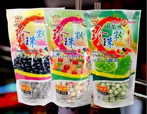 3-Pack-Variet-Tapioca-Pearls-Boba-Bubble-Tea-WuFuYuan-Ready-in-5-Minutes-8-8-Oz